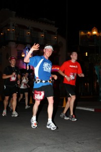 Running through Disney's Hollywood Studios